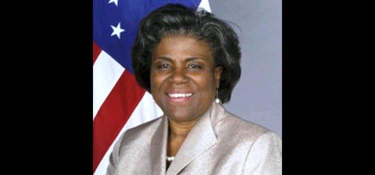 Linda Thomas-Greenfield, sous secrétaire d'Etat US aux Affaires africaines