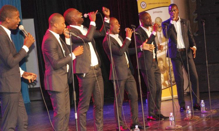 Des artistes en prestation lors du Concert (Dpt. of State)