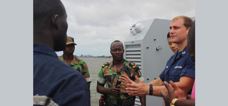 Formation des marins Ivoiriens