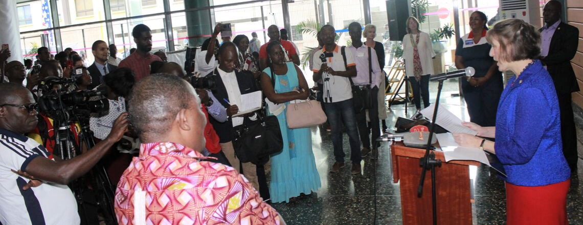 Launching of EducationUSA West Africa College Tour