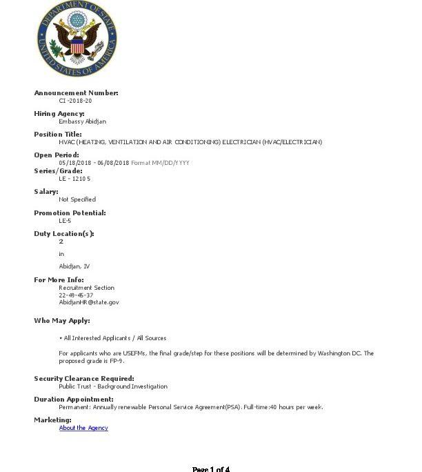 CI-2018-20-HVAC-ELECTRICIAN_FAC   U S  Embassy in Cote d'Ivoire