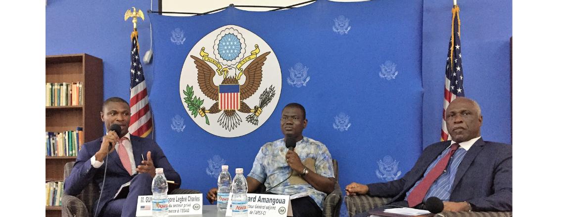 US Embassy Abidjan Holds Live Debate on AGOA