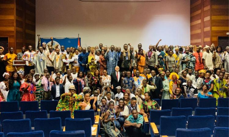 Une vue des boursiers Alumni de Côte d'Ivoire