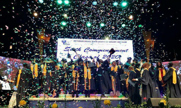 Remise de diplômes IUGB