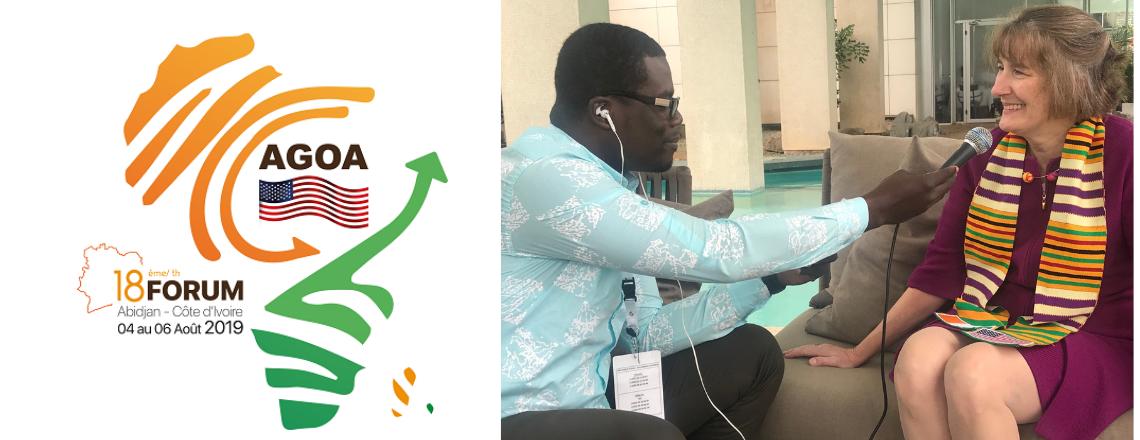 Charge d'Affaires Katherine Brucker Hails U.S.-Cote d'Ivoire Relationship