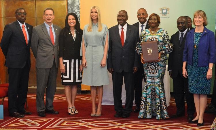lancement d'une Direction du Genre en Côte d'Ivoire lors du voyage W-GDP