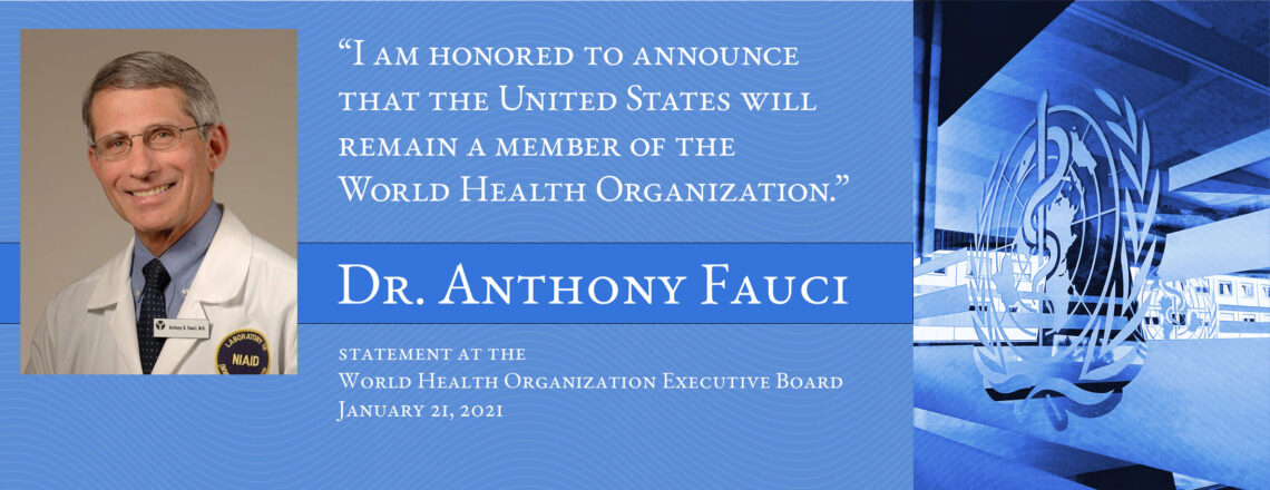 Statement by Dr. Anthony S. Fauci