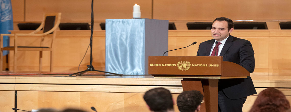 Remarks by Ambassador Bremberg at UN Holocaust Remembrance Day Ceremony