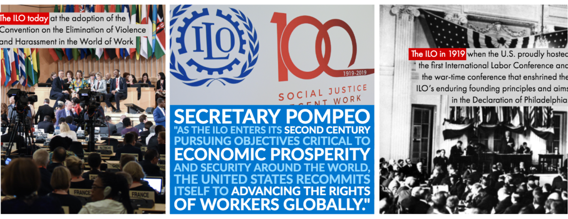 Statement by Secretary of State Pompeo on the Centenary of the ILO
