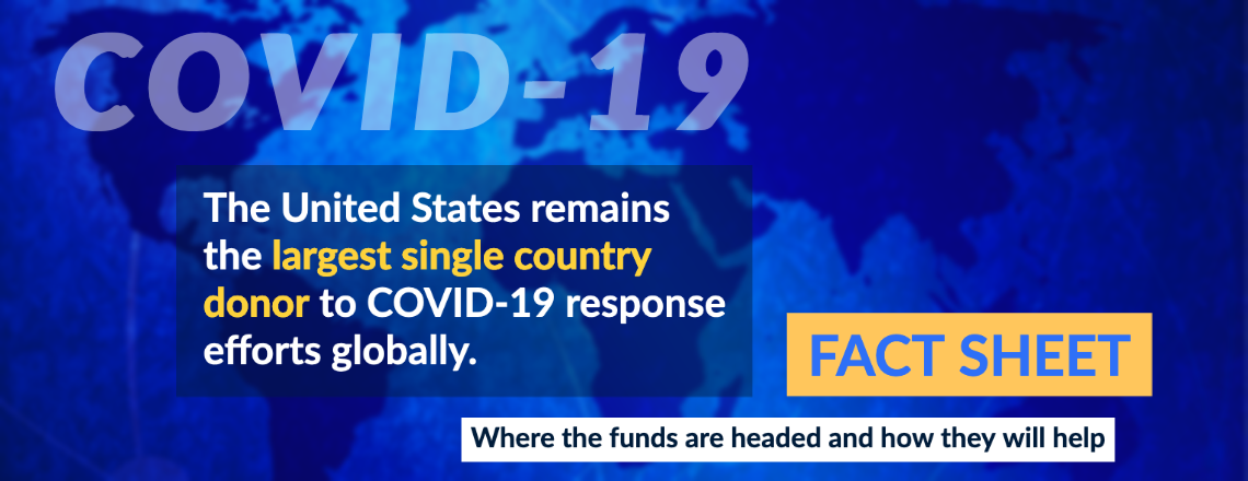 The United States is Continuing to Lead the Response to COVID-19
