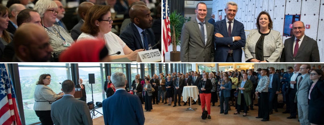 U.S. Participation in the 70th Session of the UNHCR Executive Committee