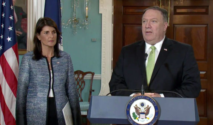 Nikki Haley and Mike Pompeo