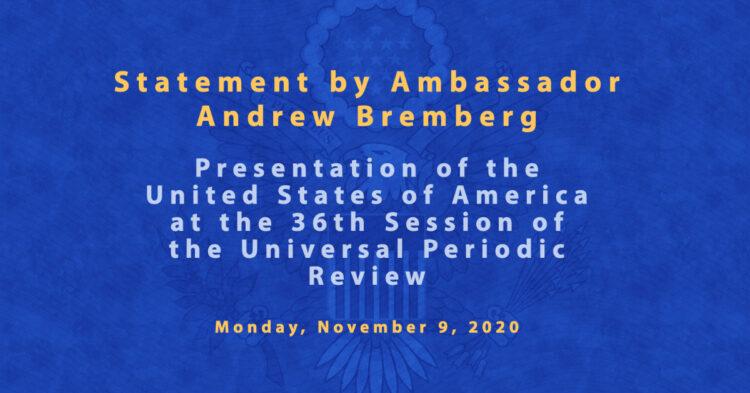 Ambassador Bremberg