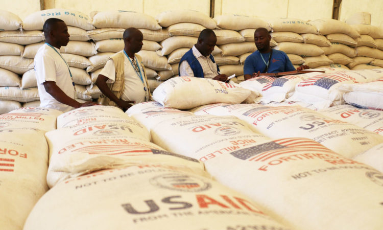 USAID helps feed millions of refugees every year