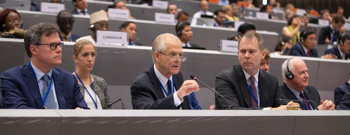Remarks of Peter Navarro at the Universal Postal Union 3rd  Extraordinary Congress
