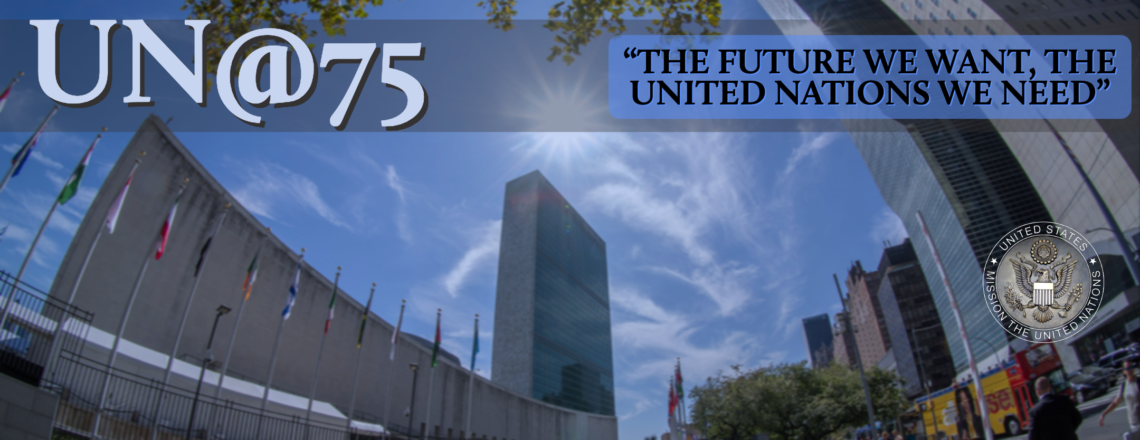"UN@75 Youth Art Contest ""The Future We Want"""