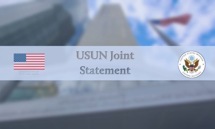 USUN Joint Statement