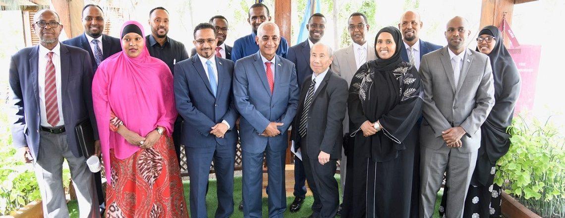 US Ambassador Yamamoto meets Somali parliamentarians in Mogadishu
