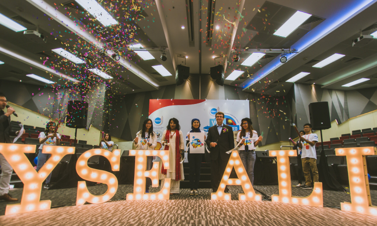 Chargé Kagan opens YSEALI YOUnified at Taylor's University. (U.S. Embassy photo)