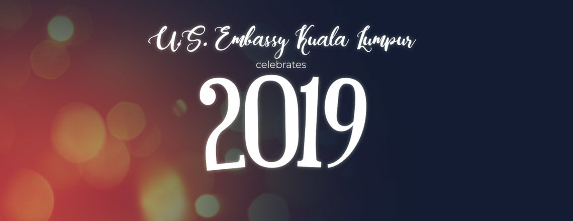 Happy New Year from your friends at the U.S. Embassy in Kuala Lumpur!