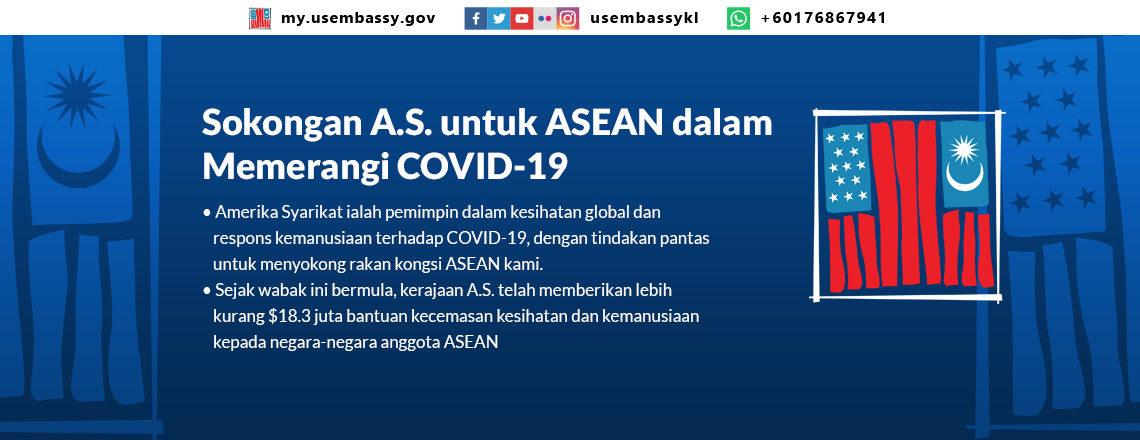 Sokongan A.S. untuk ASEAN dalam Memerangi COVID-19
