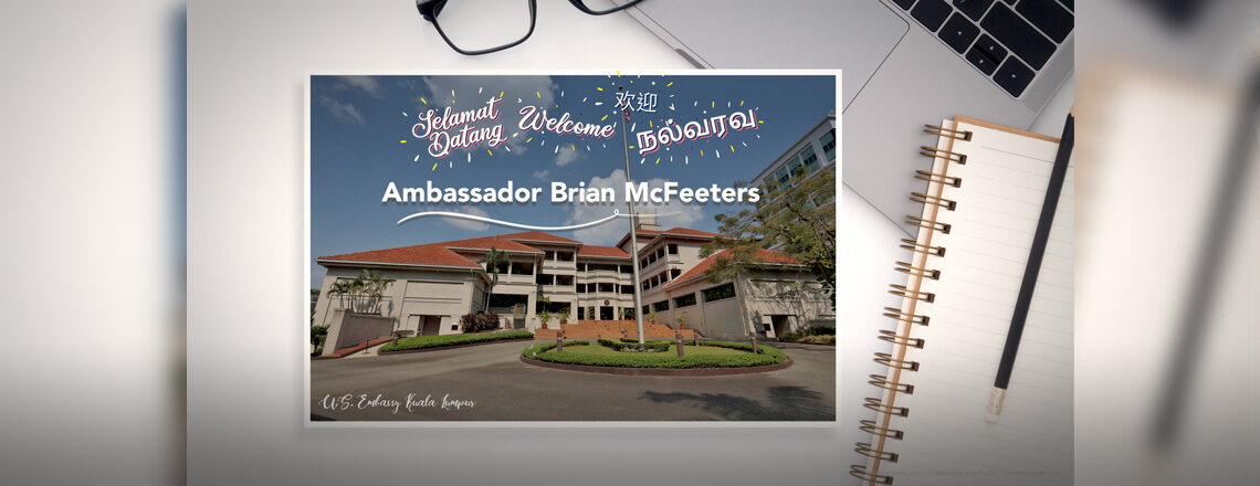 Message from Ambassador Brian McFeeters