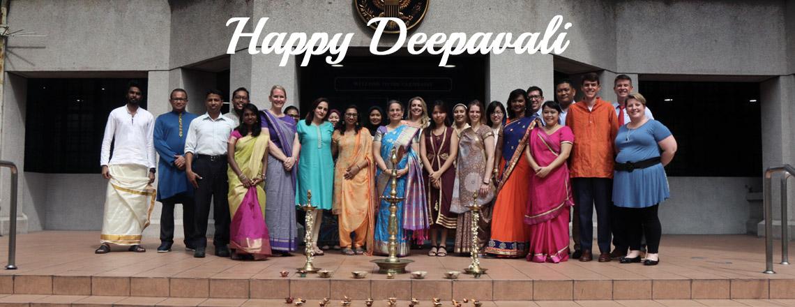 Selamat Hari Deepavali daripada Kedutaan Amerika Syarikat, Kuala Lumpur