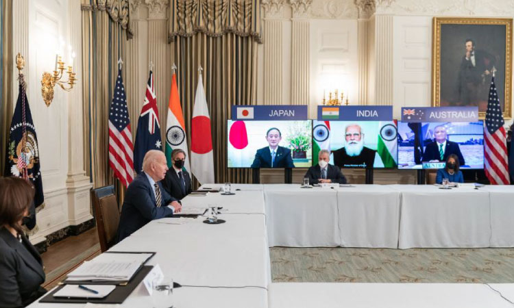President Biden hosted his first multilateral summit as president. During the meeting with the Quad, the President and leaders of Japan, India, and Australia recommitted to working together to secure a free and open Indo-Pacific region.