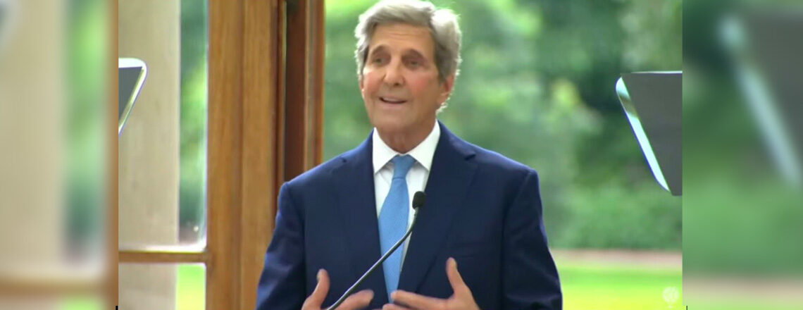Special Presidential Envoy for Climate John Kerry remarks on the urgency of global climate