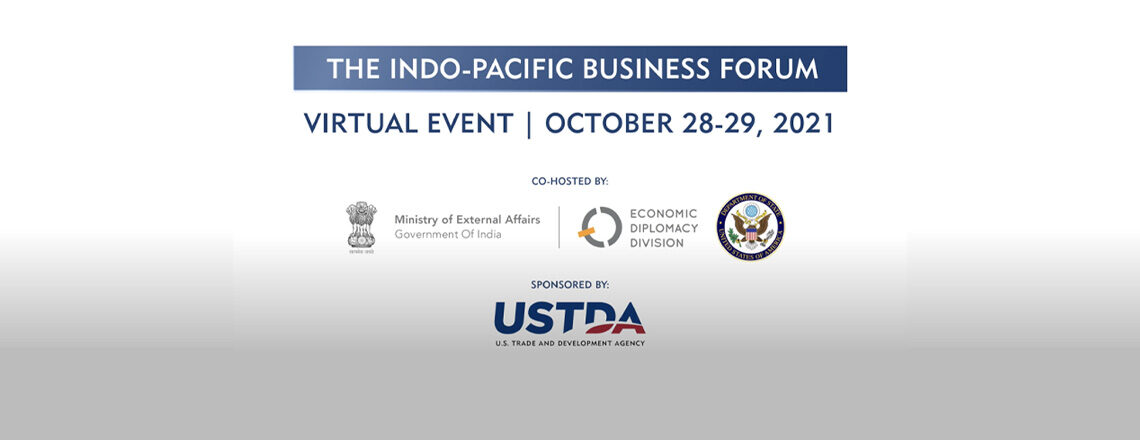 2021 INDO-PACIFIC BUSINESS FORUM