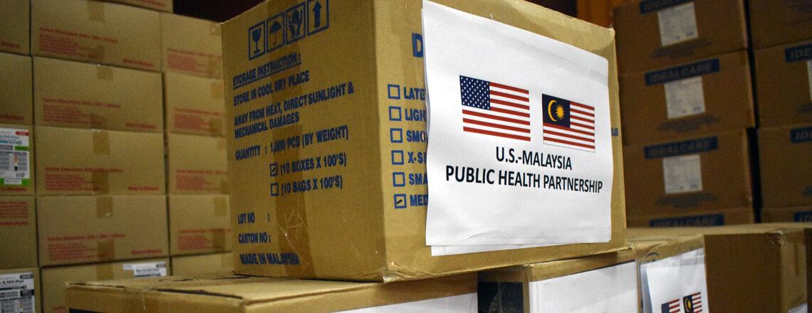Kedutaan A.S. Kuala Lumpur Beri Bantuan Tambahan COVID-19 kepada Malaysia