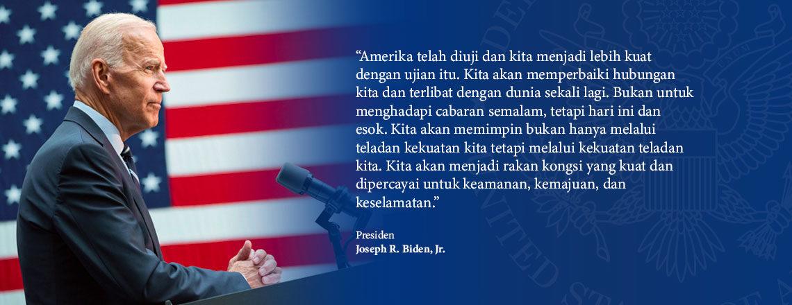 Ucapan Pelantikan oleh Presiden Joseph R. Biden