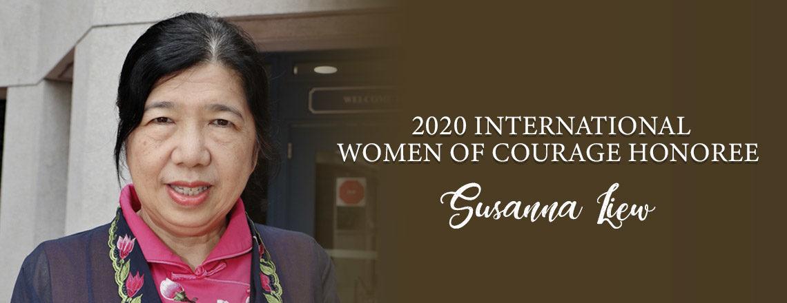 Anugerah Wanita Berani Antarabangsa 2020: Susanna Liew