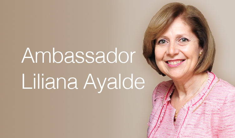 Ambassador Liliana Ayalde