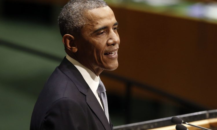 President Barack Obama at UN General Assembly (AP Images)