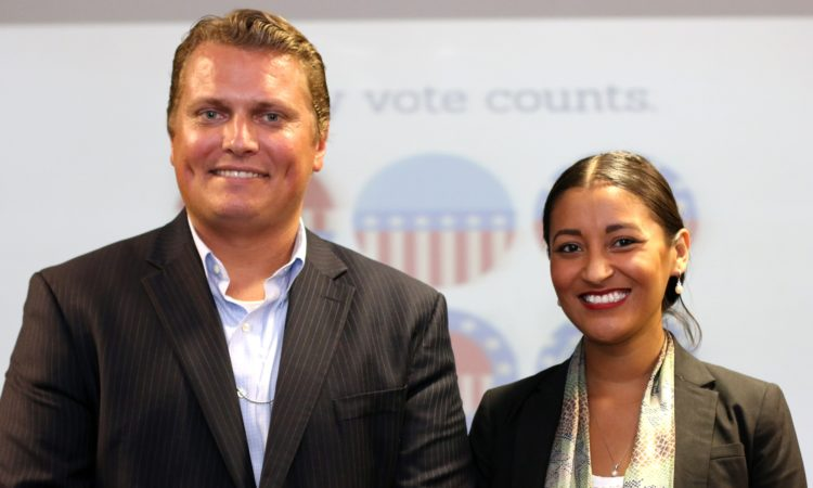 Vice-cônsules Christian Olsen e Cristian Martinez-LuSane