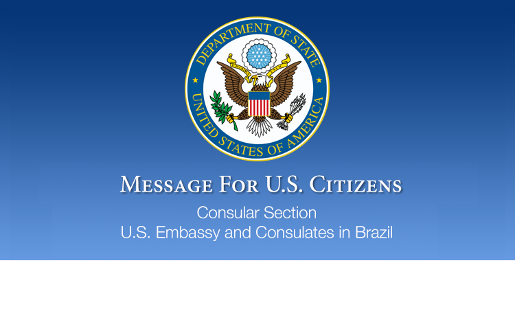 Message for U S  Citizens: Visa Waiver for U S  Citizens