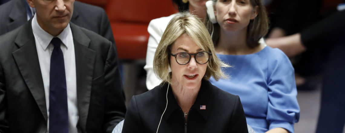 Statement by U.S. Representative to the United Nations Ambassador Kelly Craft