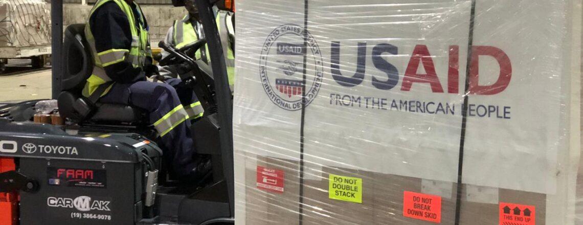 EUA fornecem mais 200 ventiladores pulmonares ao Brasil para o combate à COVID-19