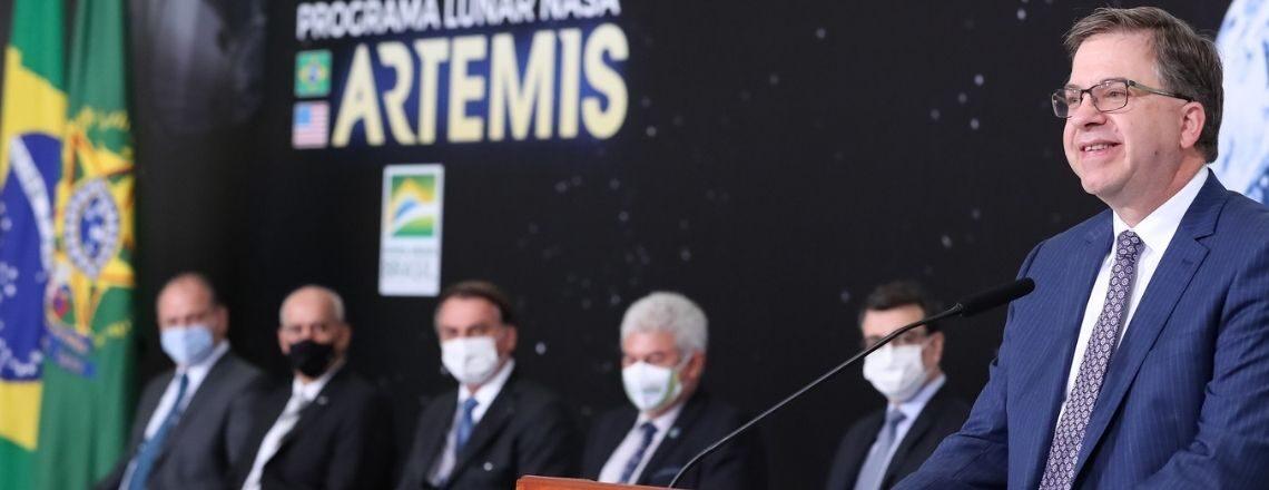 Discurso do Embaixador Todd Chapman durante cerimônia de assinatura dos Acordos Artemis