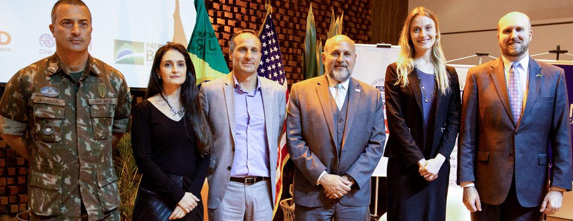 USAID e OIM anunciam um novo programa de integração de venezuelanos no Brasil