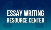 essay writing resource center