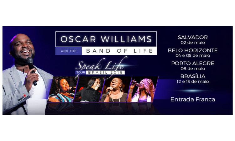 """edc83d21553 EUA trazem a banda gospel """"Oscar Williams   the Band of Life"""" para  Salvador"""