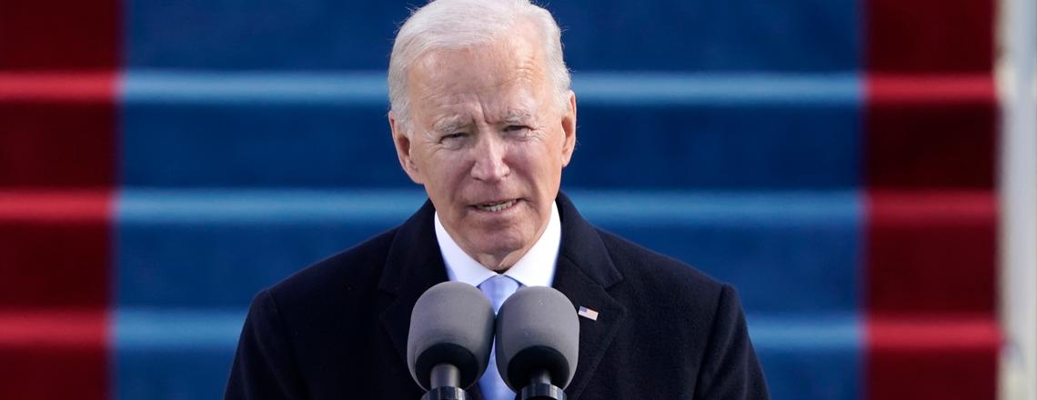 Joseph R. Biden toma posse como 46º presidente dos EUA