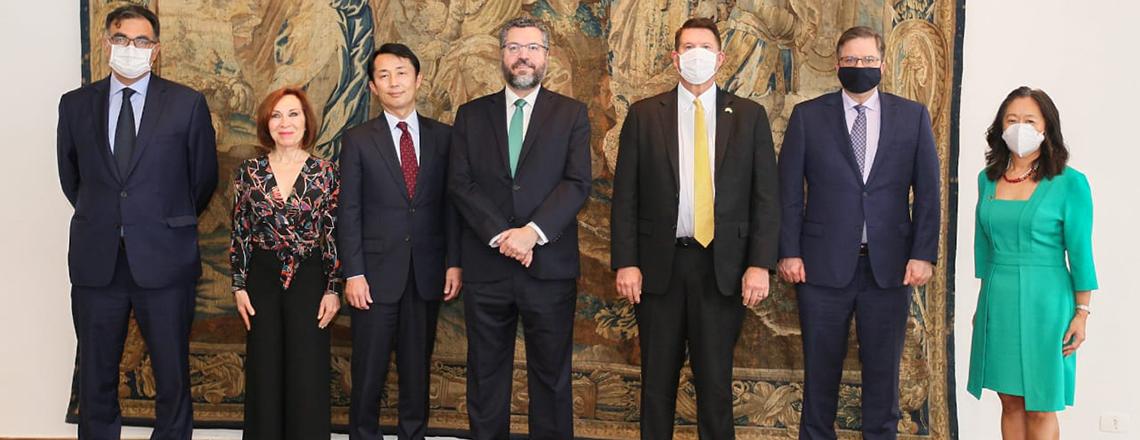 Declaração conjunta sobre o Diálogo Trilateral Brasil-EUA-Japão