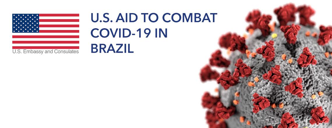 United States donates US$53 million to fight COVID-19 in Brazil
