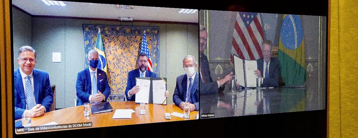 Brasil e EUA assinam Protocolo EUA-Brasil sobre Regras Comerciais e Transparência