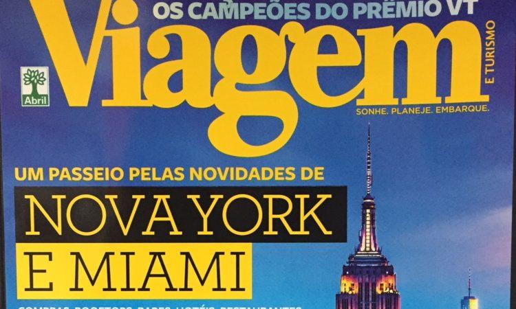 Cover Viagem& Turismo magazine