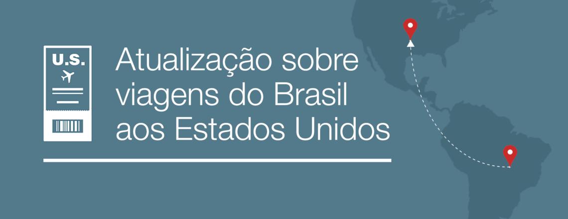 Exceções de Interesse Nacional às restrições de viagem relacionadas ao Brasil