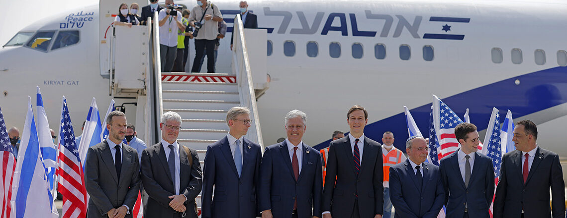 The first direct El-Al flight to the United Arab Emirates departs Ben Gurion Airport today
